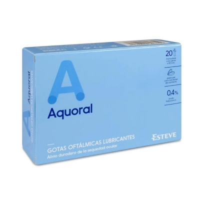 AQUORAL 0.4% 0.5 ML 20 MONOD