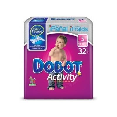 PAÑAL DODOT ACTIV T5 13-18K...